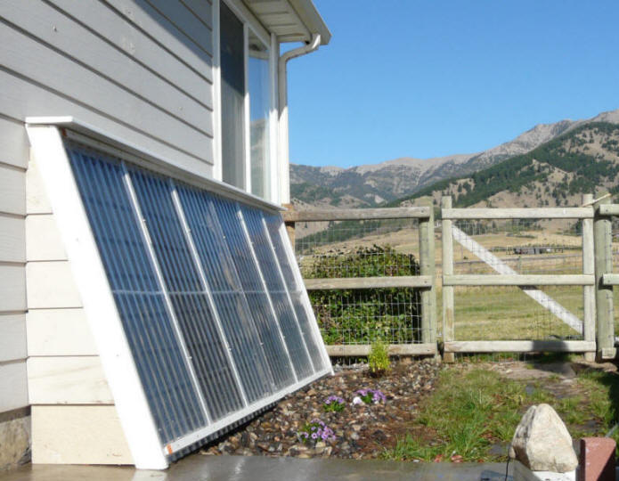 The 1000 Solar Water Heating System