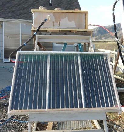Test Of Thermosyphon Solar Collector Made From Pex