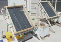 cpvc solar collector test