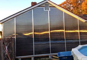 large diy serpentine solar space heating system