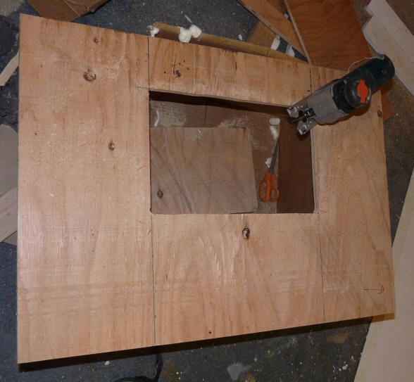 Diy Plywood Kitchen Cabinet Doors: Plywood Door Diy & Easy DIY Cabinet Doors