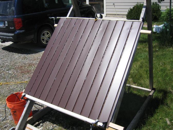 Simple Cheap Solar Pool Heater