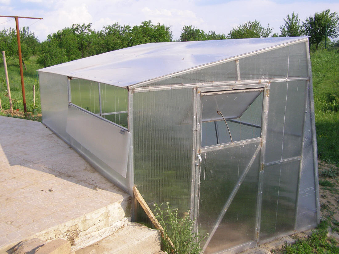 Greenhouse For Cristian S Earth Sheltered Home