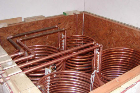 Solar Hot Water And Space Heating System With Integrated