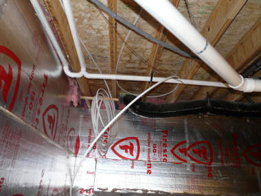 2000 Solar Space Water Heating System Staple Up