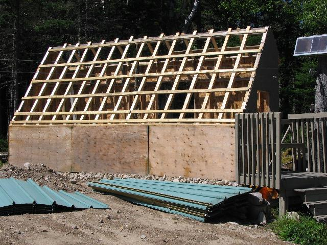 Paul S Solar Shed Heating System