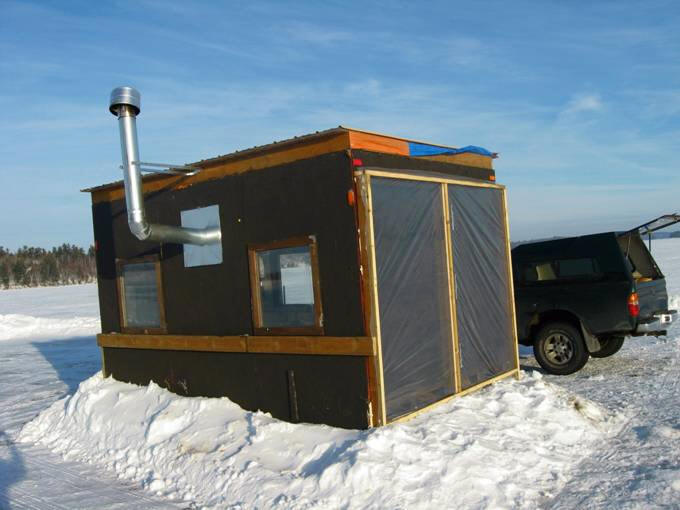Ice Shack Building Plans