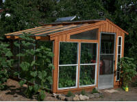 sunspace temperature log