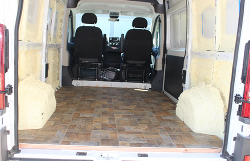 Promaster Diy Camper Van Conversion Floor