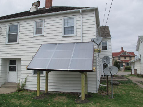 A 2k Solar Water Heating System For An Apartment Building