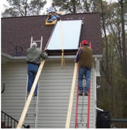diy solar water heating system