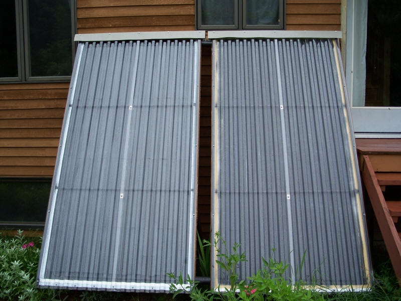DIY Passive Solar Water Heater  Instructables
