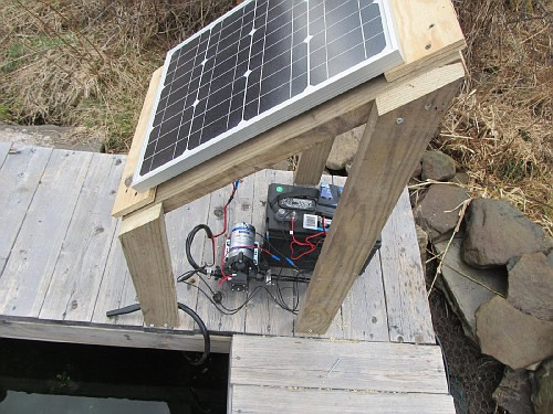 A Simple And Inexpensive High Lift Solar Pumping Setup